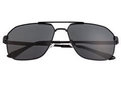 Breed Norma Polarized Sunglasses - Black/Black