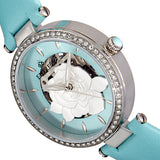 Empress Anne Automatic Semi-Skeleton Leather-Band Watch - Mint EMPEM3102