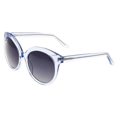Bertha Violet Polarized Sunglasses - Blue/Black BRSBR012B