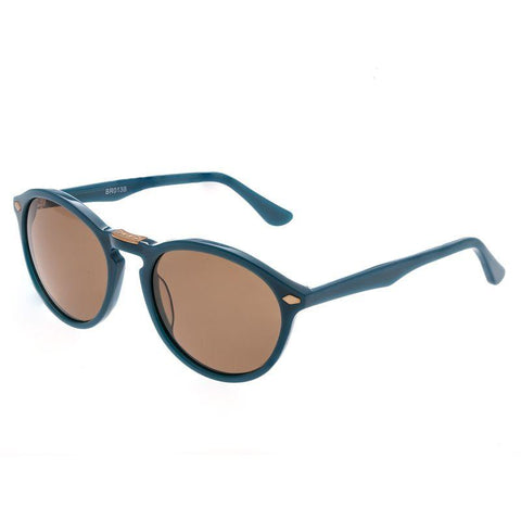 Bertha Kennedy Polarized Sunglasses - Teal/Brown BRSBR013B
