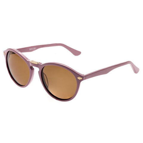 Bertha Kennedy Polarized Sunglasses - Rose/Brown BRSBR013R