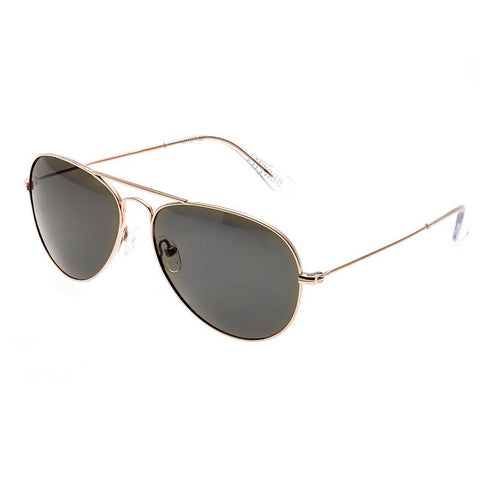 Bertha Brooke Polarized Sunglasses - Rose Gold/Brown BRSBR018W