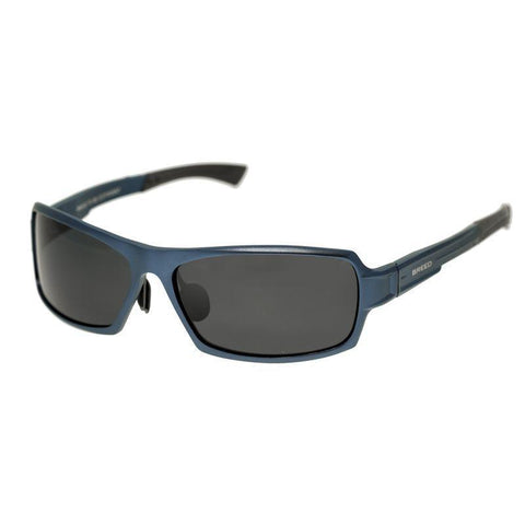 Breed Cosmos Aluminium Polarized Sunglasses - Blue/Black BSG013BL