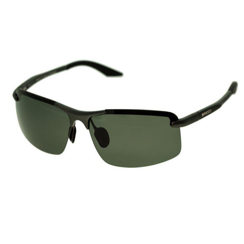 Breed Lynx Aluminium Polarized Sunglasses - Gunmetal/Black BSG015GM