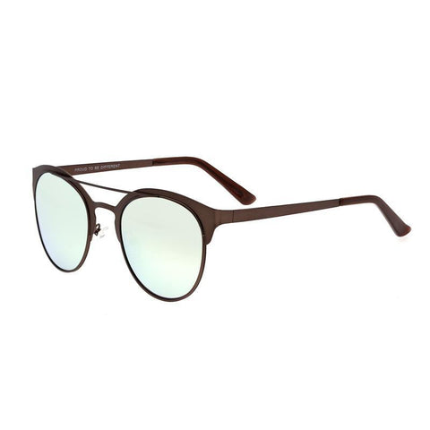 Breed Phoenix Titanium Polarized Sunglasses - Brown/Celeste BSG036BN