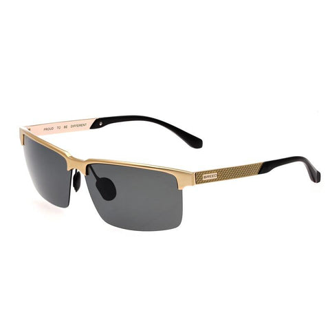 Breed Xenon Titanium Polarized Sunglasses - Gold/Black BSG040GD
