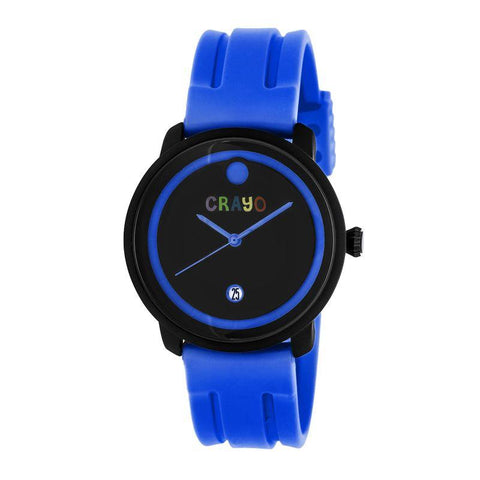 Crayo Fresh Unisex Watch w/Date - Blue CRACR0302