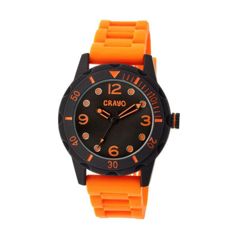 Crayo Splash Unisex Watch - Orange CRACR2204