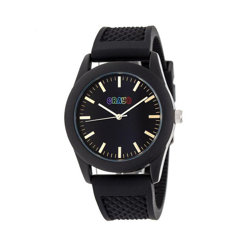 Crayo Storm Quartz Watch - Black CRACR3701