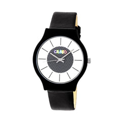 Crayo Trinity Strap Watch - Black