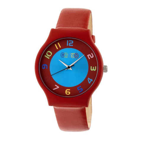 Crayo Jubilee Strap Watch - Red CRACR4603