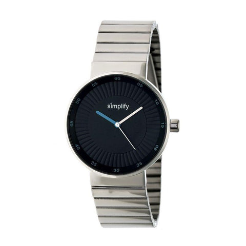 Simplify The 4600 Bracelet Watch - Silver/Cerulean SIM4602