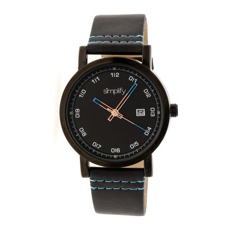Simplify The 5300 Strap Watch - Black SIM5306