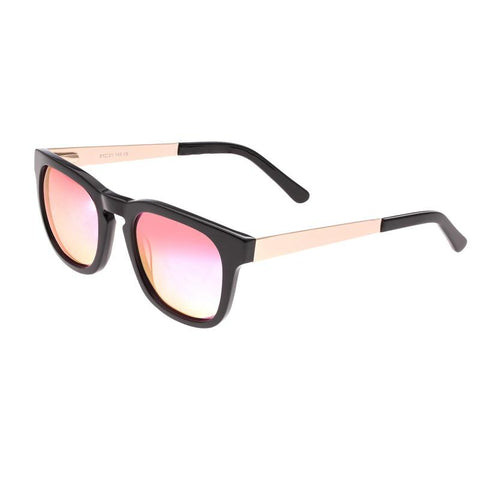 Sixty One Twinbow Polarized Sunglasses - Black/Pink SIXS132PK