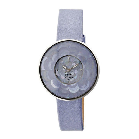 Sophie & Freda Venice MOP Swiss Ladies Watch - Lavender SAFSF1104