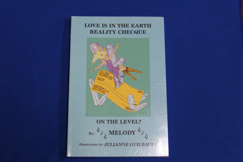 Love is in the Earth Reality Checque - Book
