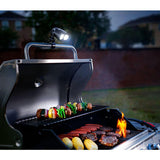 portable handlemount grill led flashlight for barbecue