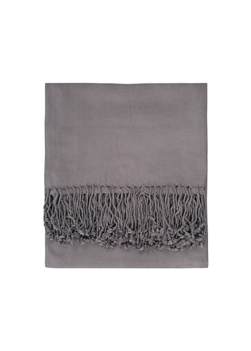 Bamboo Viscose Solid Throw