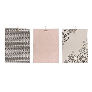 Morning Glory Cotton Kitchen Towel Set