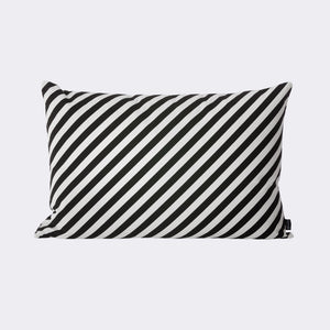 Black Stripe Cushion