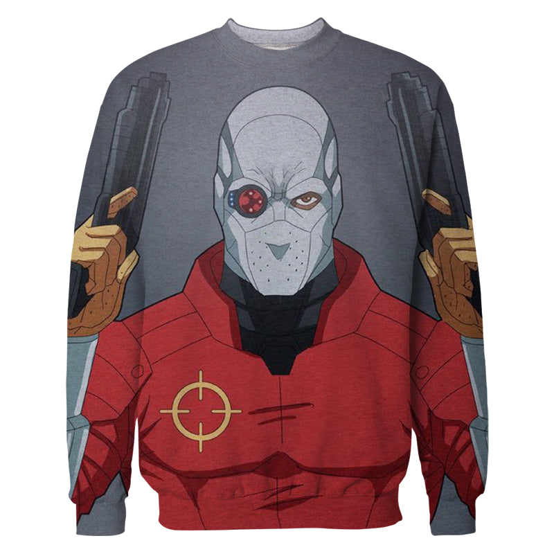 3D Printed Deadshot Sweatshirt