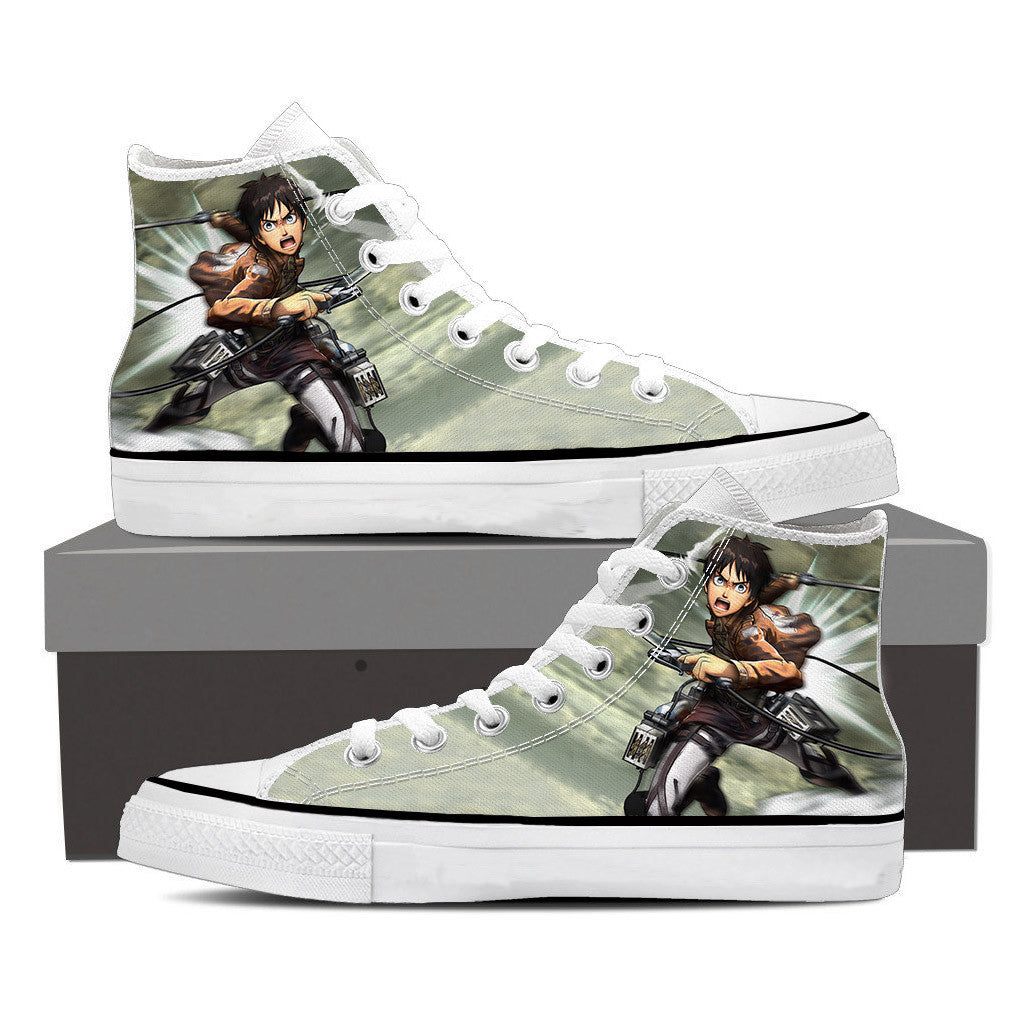 Attack On Titan Raging Eren Attack On Titan Shoes