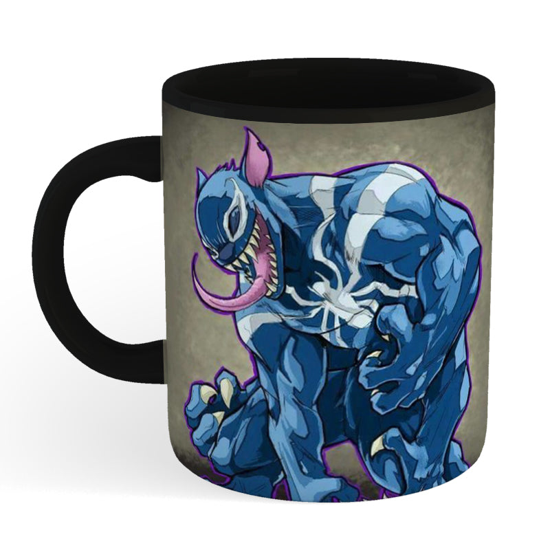 Stitch Venom Coffee Mug 3D Printed