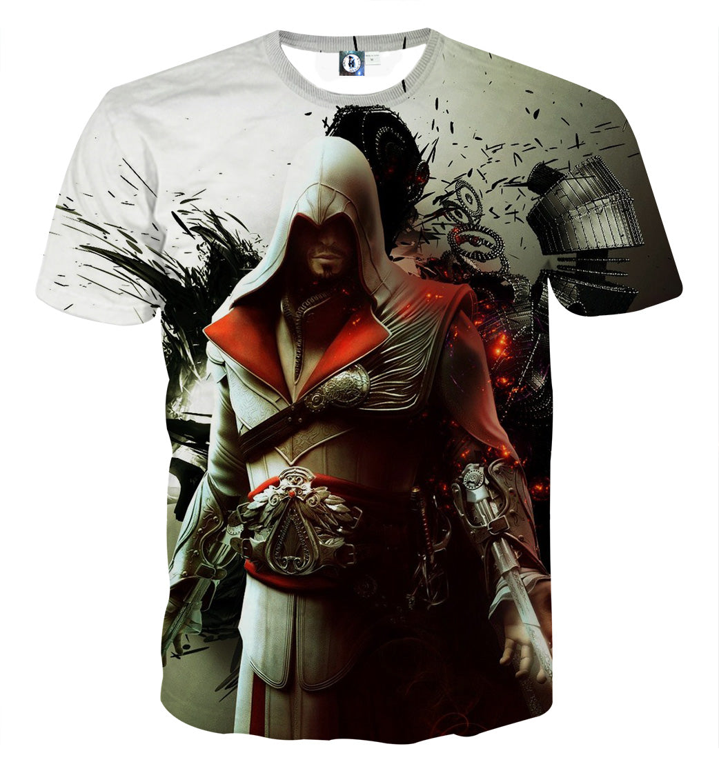 Assassin's Creed - :Ezio Auditore da Firenze 3D Printed T Shirt
