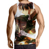 Attack On Titan Levi 3D Printed Tank Top