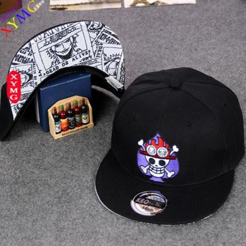 One Piece Portgas D Ace Snapback Hat