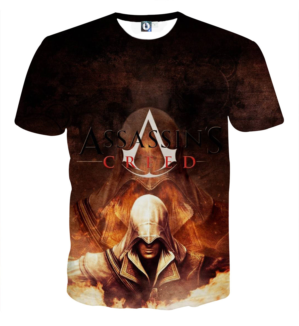 Assassin's Creed - :Altaïr Ibn-La'Ahad 3D Printed T Shirt