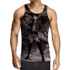 Attack On Titan Levi Standing 3D Printed Tank Top