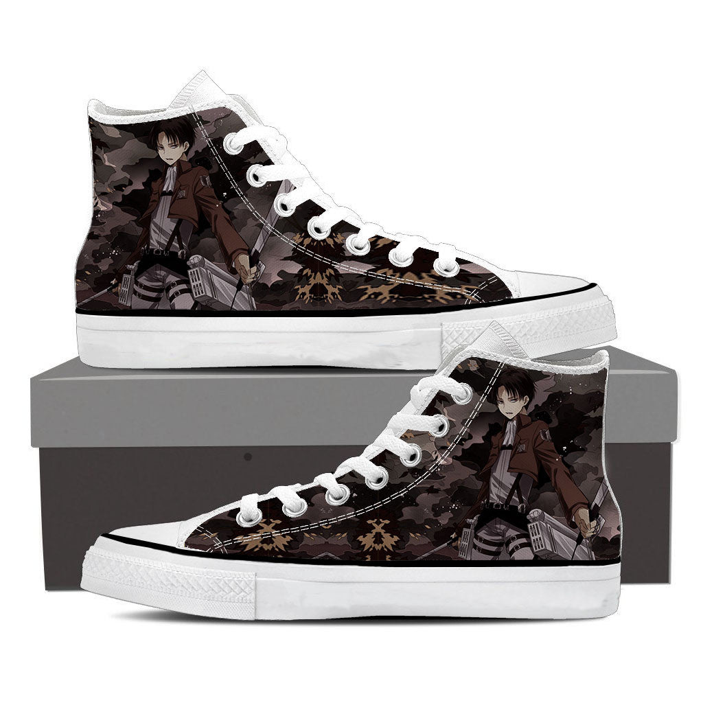 Attack On Titan Black Levi Attack On Titan Shoes