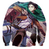 AttackOnTitan Levi-Ackerman 3D Printed Sweatshirts