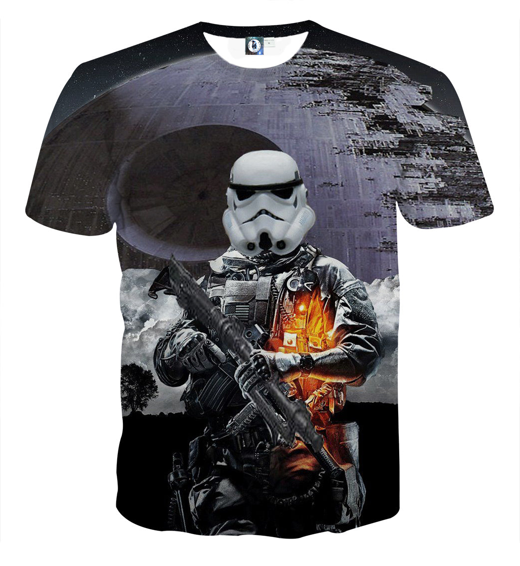 Assassin's Creed - : star wars   3D Printed T Shirt