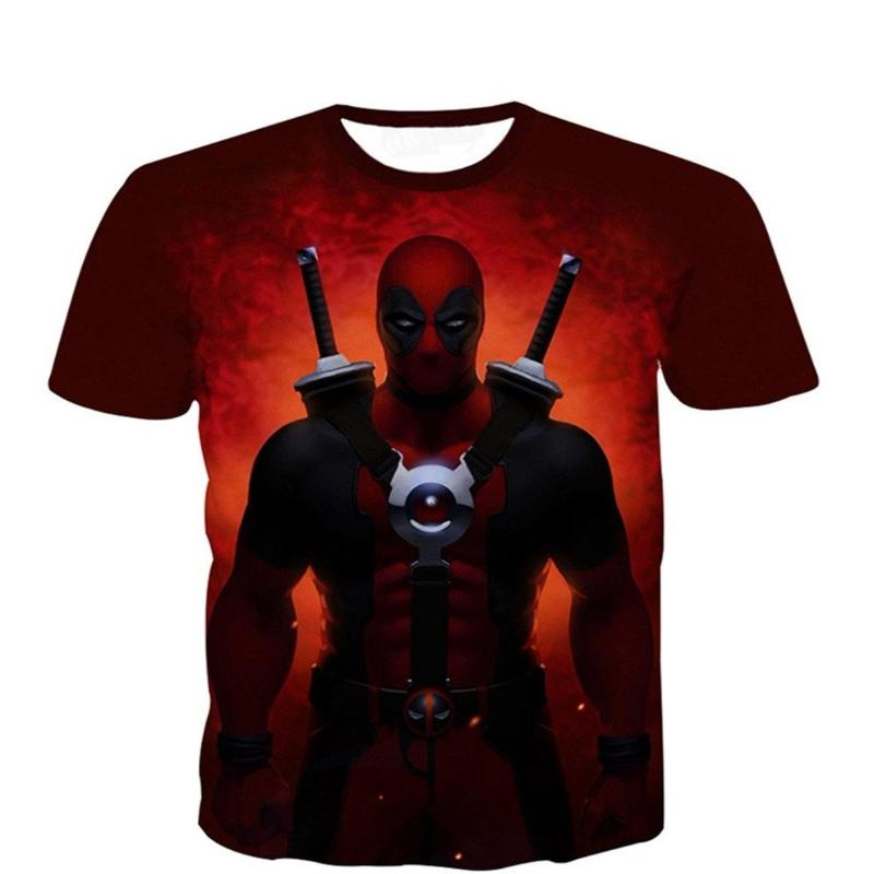 3D Printed Deadpool T-Shirt