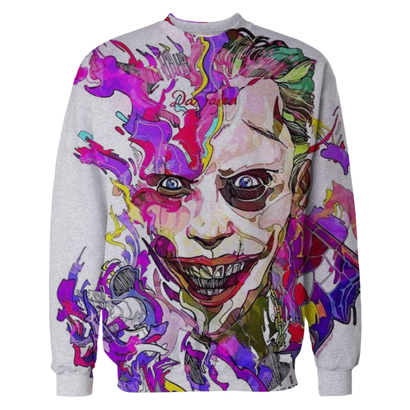 3D Printed Joker Sweatshirts