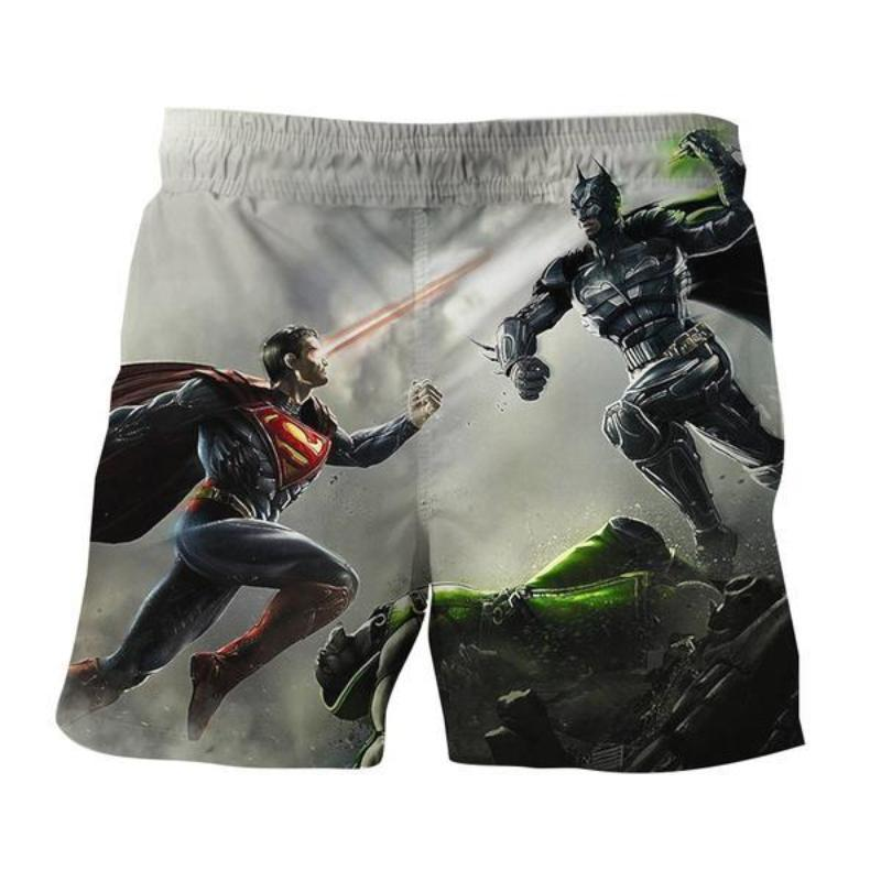 3D Printed Superman VS Batman Shorts