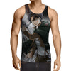 Attack On Titan Levi Cool 3D Printed Tank Top