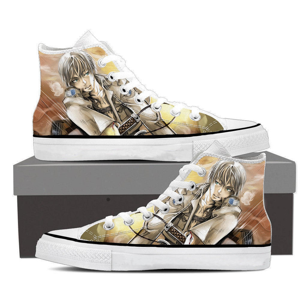 Attack On Titan White Haired Eren Attack On Titan Shoes