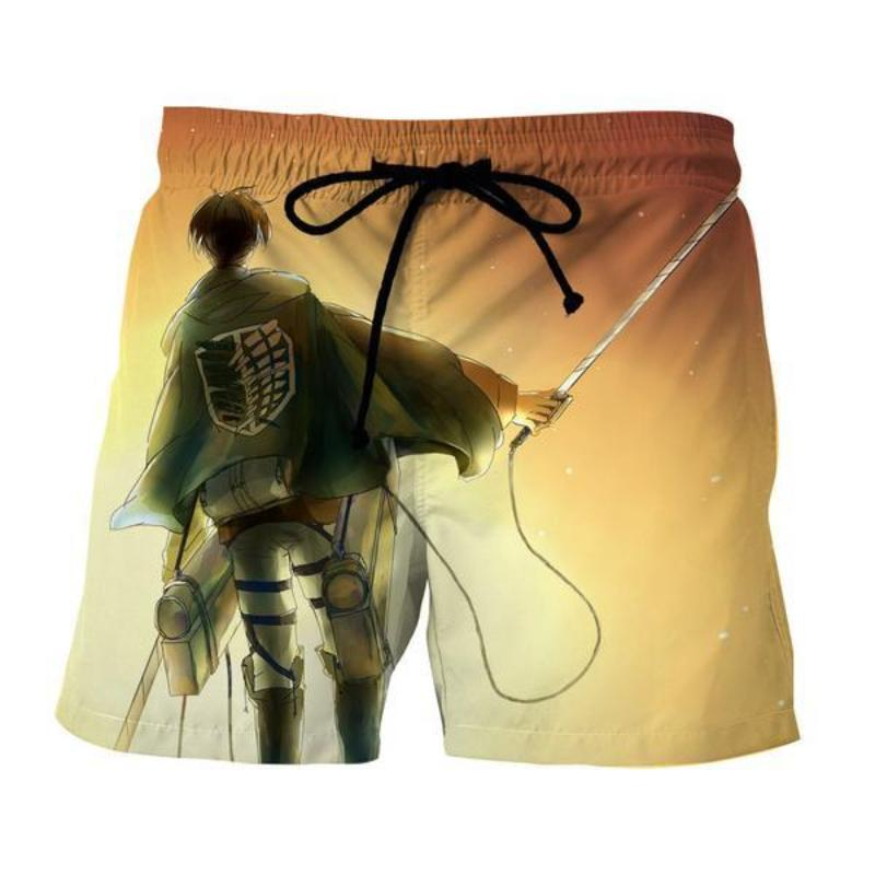 Attack On Titan 3D Printed Levi Attack On Titan Shorts