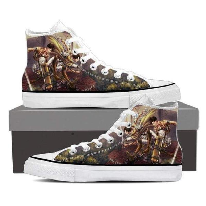 Attack On Titan Eren And Levi Attack On Titan Shoes
