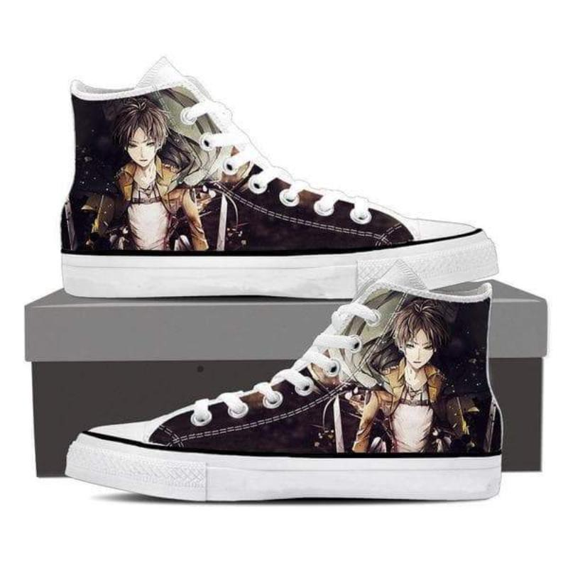 Attack On Titan Eren Black Attack On Titan Shoes
