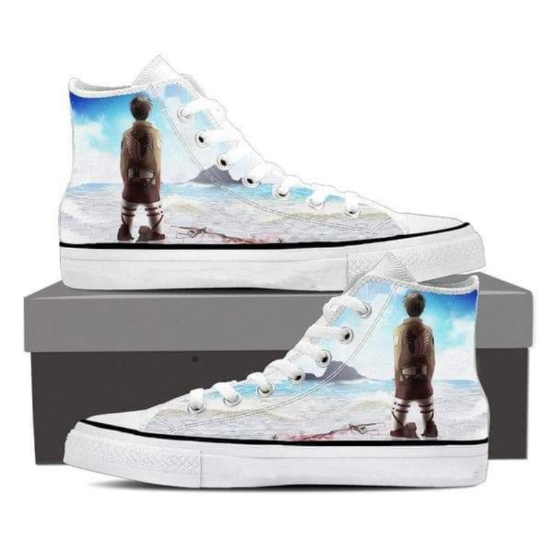 Attack On Titan Eren Kneeling Attack On Titan Shoes