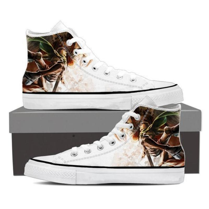 Attack On Titan Eren Titan with Levi Attack On Titan Shoes