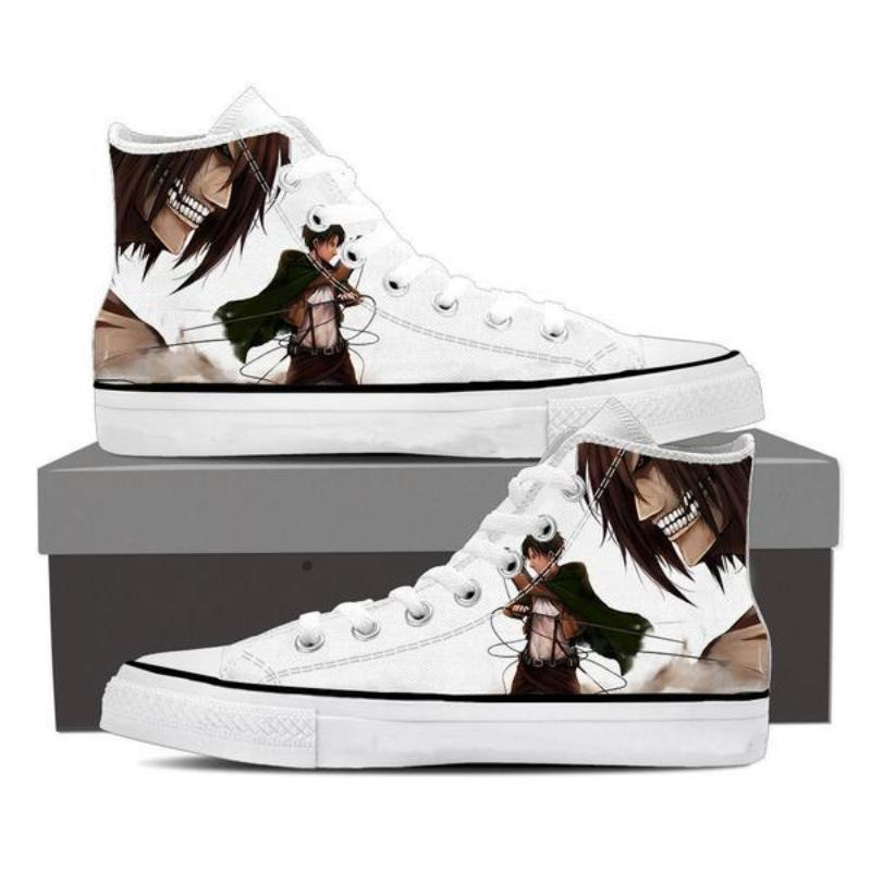 Attack On Titan Eren and Titan Attack On Titan Shoes
