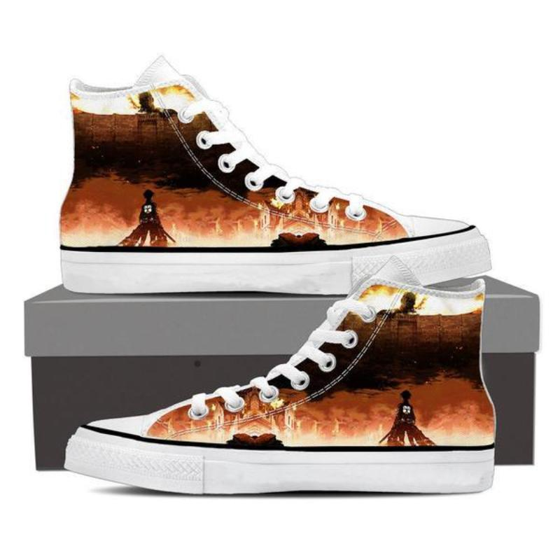 Attack On Titan Grim Reminder Attack On Titan Shoes