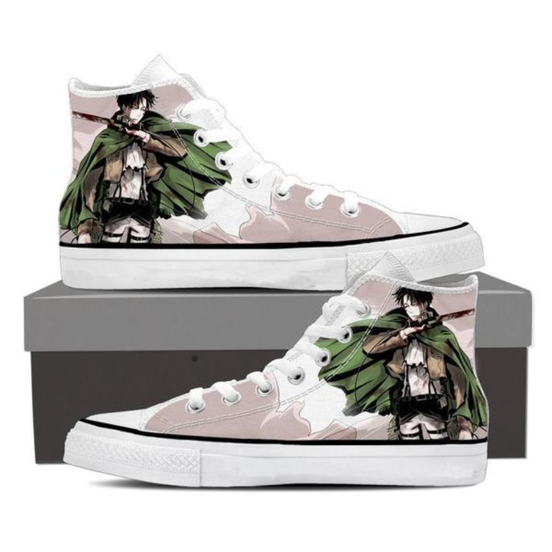 Attack On Titan Levi Attack On Titan Shoes