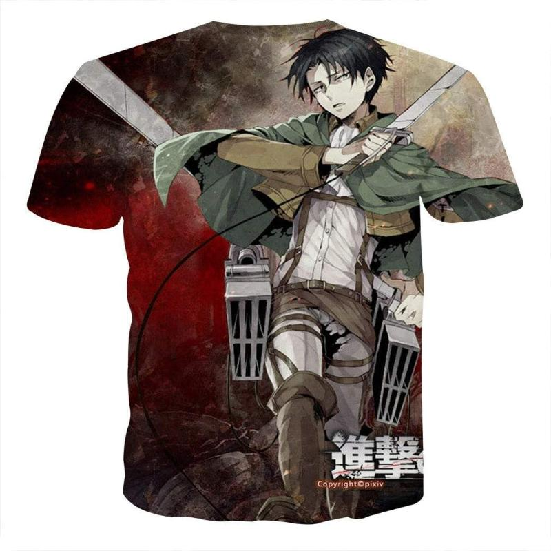 Attack On Titan Levi Attack On Titan T Shirt
