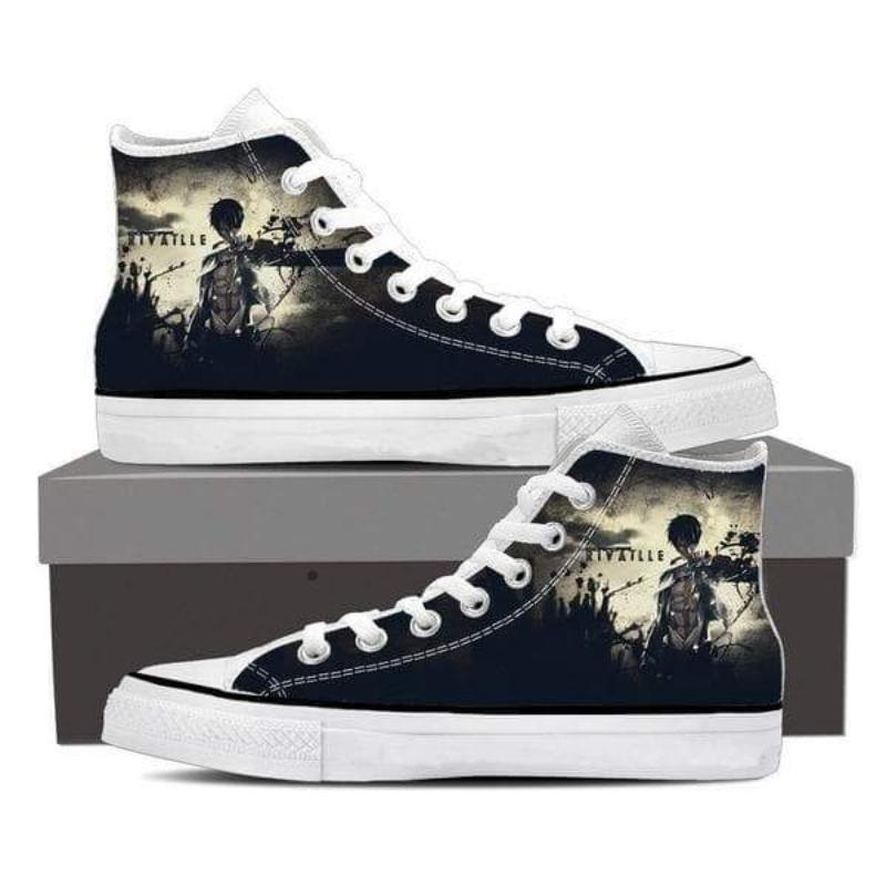 Attack On Titan Levi Black Attack On Titan Shoes